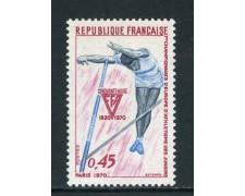 1970 - FRANCIA - CAMPIONATO JUNIORES ATLETICA - NUOVO - LOTTO/25998