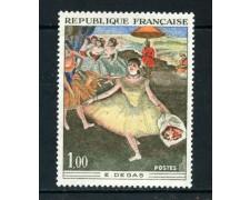 1970 - FRANCIA - ARTE DEGAS - NUOVO - LOTTO/26000