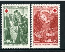 1970 - FRANCIA - PRO CROCE ROSSA 2v. - NUOVI - LOTTO/26006