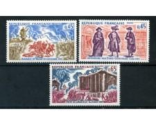 1971 - FRANCIA - STORIA DI FRANCIA 3v. - NUOVI - LOTTO/26016