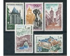 1971 - FRANCIA - SERIE TURISTICA 5v. - NUOVI - LOTTO/26019