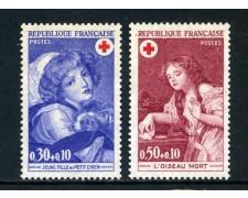 1971 - FRANCIA - PRO CROCE ROSSA 2v. - NUOVI - LOTTO/26025