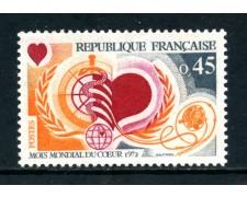 1972 - FRANCIA - MESE DEL CUORE - NUOVO - LOTTO/26033