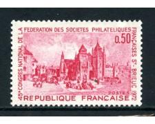 1972 - FRANCIA - SOCIETA' FILATELICHE - NUOVO - LOTTO/26038