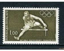 1972 - FRANCIA - OLIMPIADI DI MONACO - NUOVO - LOTTO/26041