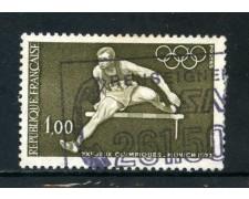 1972 - FRANCIA - OLIMPIADI DI MONACO - USATO - LOTTO/26041U