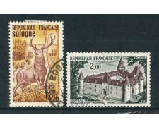 1972 - FRANCIA - TURISTICA 2v. - USATI - LOTTO/26044U