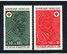 1972 - FRANCIA - CROCE ROSSA 2v. - NUOVI - LOTTO/26050