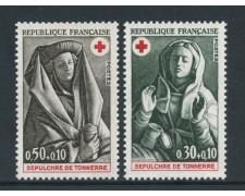 1973 - FRANCIA - PRO CROCE ROSSA 2v. - NUOVI - LOTTO/26081
