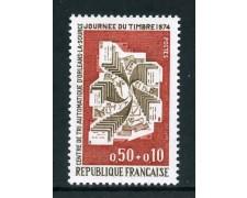 1974 - FRANCIA - GIORNATA DEL FRANCOBOLLO - NUOVO - LOTTO/26086