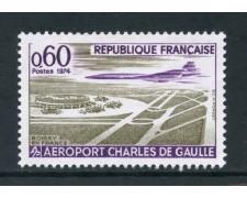 1974 - FRANCIA - AEROPORTO C. DE GAULLE - NUOVO - LOTTO/26087