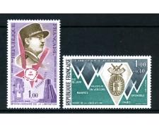 1974 - FRANCIA - ANNIVERSARIO LIBERAZIONE 2v. - NUOVI - LOTTO/26094