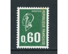1974 - FRANCIA - 60c. MARIANNA DI BEQUET - NUOVO - LOTTO/26099