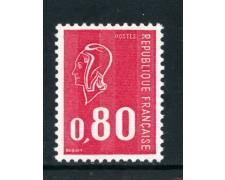 1974 - FRANCIA - 80c. MARIANNA DI BEQUET - NUOVO - LOTTO/26100