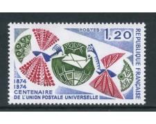 1974 - FRANCIA - CENTENARIO U.P.U - NUOVO - LOTTO/26101