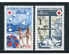 1974 - FRANCIA - CROCE ROSSA 2v. - NUOVI - LOTTO/26105