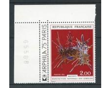 1974 - FRANCIA - OPERE D'ARTE MATHIEU - NUOVO - LOTTO/26109