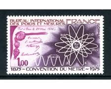 1975 - FRANCIA - CONVENZIONE METRICA - NUOVO - LOTTO/26113