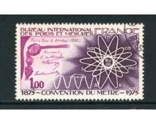 1975 - FRANCIA - CONVENZIONE METRICA - USATO - LOTTO/26113U