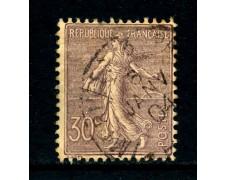 1903 - FRANCIA - 30c. VIOLETTO SEMINATRICE - USATO - LOTTO/26120
