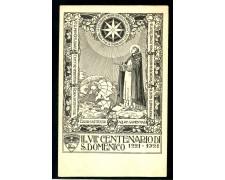 1921 - ITALIA - VII° CENTENARIO DI S.DOMENICO - CARTOLINA NUOVA - LOTTO/26122