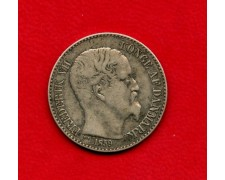 1859 - INDIA DANESE - 20 cents. FEDERICO VII° ARGENTO - LOTTO/M26192