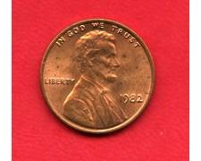 1982 - STATI UNITI - 1 CENT. LINCOLN - LOTTO/M26222