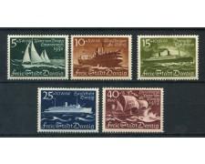1938 - DANZICA - SOCCORSO INVERNALE 5v. - LINGUELLATI - LOTTO/26290
