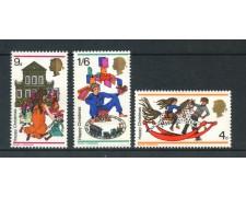 1968 - GRAN BRETAGNA - NATALE 3v. - NUOVI - LOTO/26313