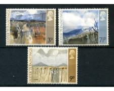 1971 - GRAN BRETAGNA - QUADRI IRLANDESI 3v. - NUOVI - LOTTO/26324