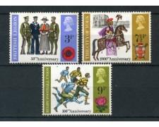 1971 - GRAN BRETAGNA - ANNIVERSARI BRITANNICI 3v. - NUOVI - LOTTO/26326