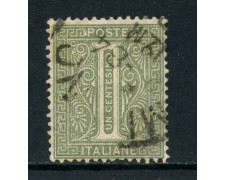 1863 - REGNO - 1 cent. TIRATURA DI LONDRA - USATO - LOTTO/26386B