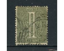 1863 - REGNO - 1 cent. TIRATURA DI TORINO - USATO - LOTTO/26390