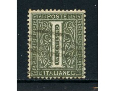 1863 - REGNO - 1 cent. TIRATURA DI TORINO - USATO - LOTTO/26391