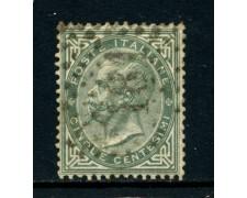 1863 - REGNO - 5 cent. RE VITTORIO EMANUELE II° - USATO - LOTTO/26392