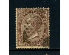 1863 - 30 cent. BRUNO VITTORIO EMANUELE II° - USATO - LOTTO/26405