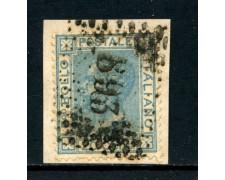 1867 - REGNO - 20 cent. CELESTE VITTORIO EMANUELE II° USATO - LOTTO/26407