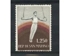 1954 - LOTTO/2642A - S. MARINO - 250 Lire GINNASTA NUOVO