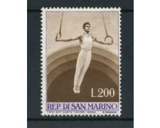 1954 - LOTTO/2642B - S. MARINO - 250 Lire GINNASTA NUOVO