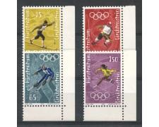 1971 - LIECHTENSTEIN - OLIMPIADI DI SAPPORO 4v. - NUOVO - LOTTO/26446