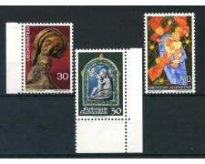 1970/1972 - LIECHTENSTEIN - NATALE 3v. - NUOVI - LOTTO/26456
