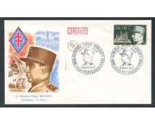 1971 - FRANCIA - GENERALE DIEGO BROSSET - BUSTA FDC - LOTTO/26724