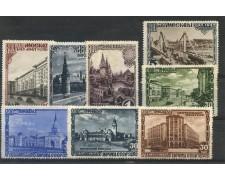 1947 - RUSSIA - FONDAZIONE DI MOSCA 8v. - LINGUELLATI - LOTTO/26852