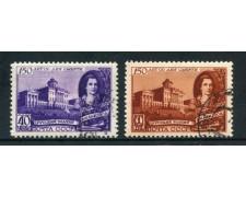 1949 - RUSSIA - BASCHENOV 2v. - USATI - LOTTO/26860