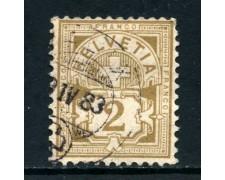 1882 - SVIZZERA - 2c. BISTRO - USATO - LOTTO/27043