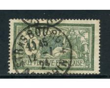 1907 - FRANCIA - 45 c. ALLEGORIA TIPO MERSON - USATO - LOTTO/27091
