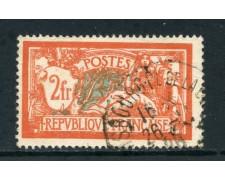 1907 - FRANCIA - 2 Fr. ALLEGORIA TIPO MERSON - USATO - LOTTO/27093