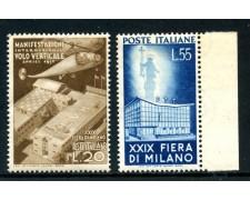 1951 - REPUBBLICA - 29° FIERA DI MILANO 2v. - NUOVI - LOTTO/27166