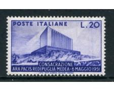 1951 - REPUBBLICA - ARA PACIS - NUOVO - LOTTO/27168