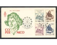 1973 - VATICANO - NICOLO' COPERNICO -  BUSTA FDC VENEZIA - LOTTO/27569A